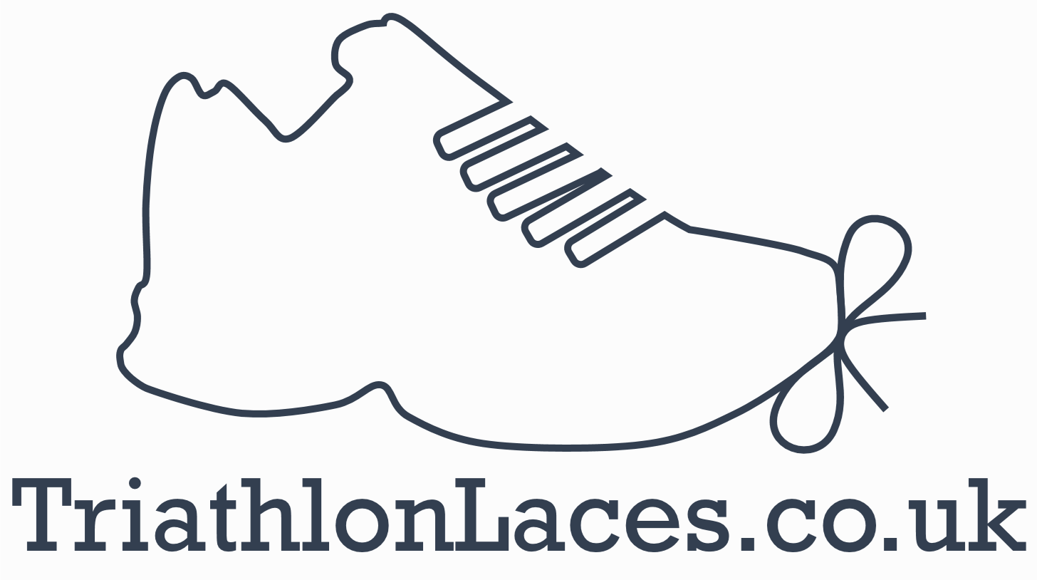 Triathlonlaces.co.uk triathlon laces logo