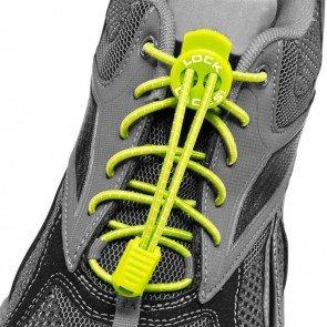 lock laces green triathlon laces