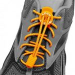 lock laces orange triathlon laces