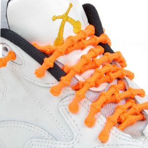 Xtenex Laces X300 neon orange Triathlon Laces